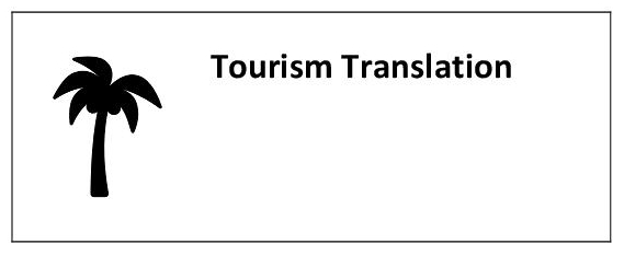 Translation in the field of tourism